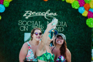 Beaches Resorts Social Media on the Sand