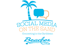 Beaches Resorts Social Media on the Sand
